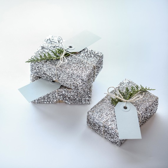 Glitter Gift Boxes