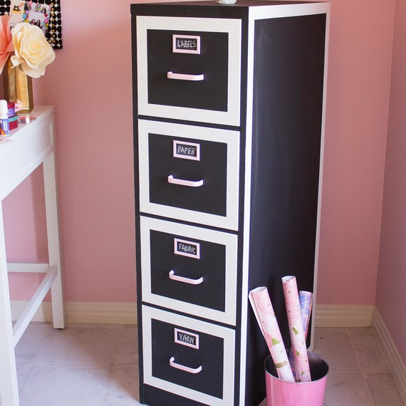 File Cabinet Craft Storage