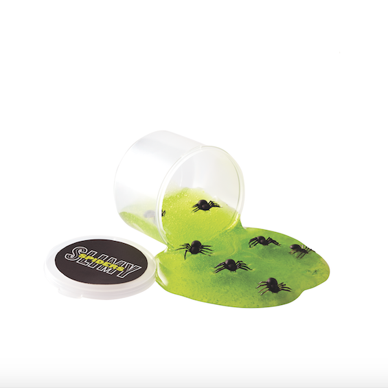 green slime with bugs