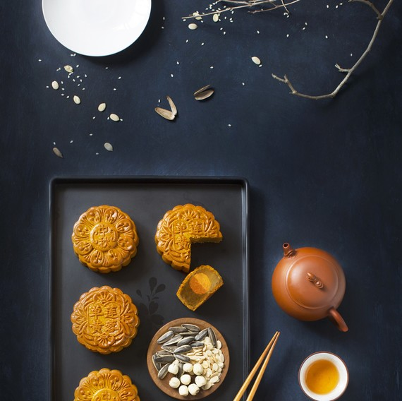 mid-autumn festival feast