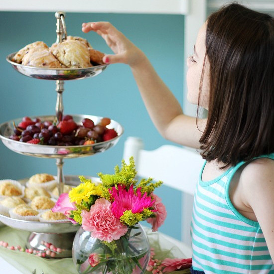 Host A Delightful Mothers Day Tea Party Martha Stewart