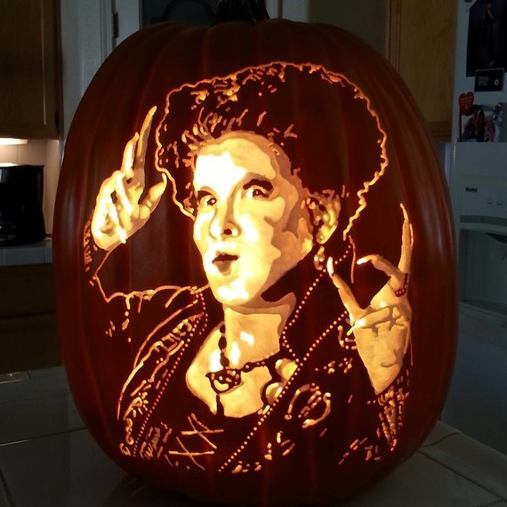 pumpkin geek carvings hocus pocus