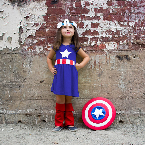 kid superhero costume