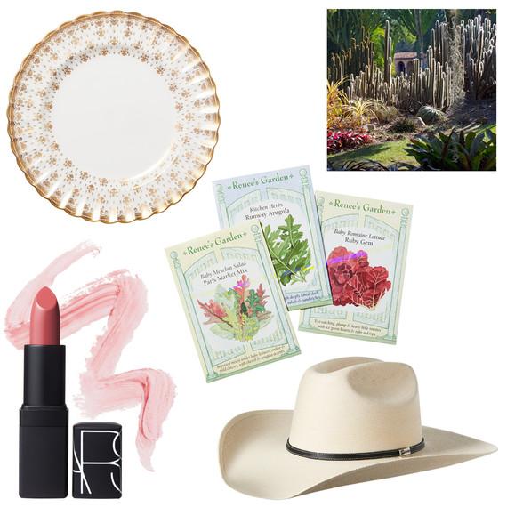 tastemaker products cowboy hat lipstick plate seeds