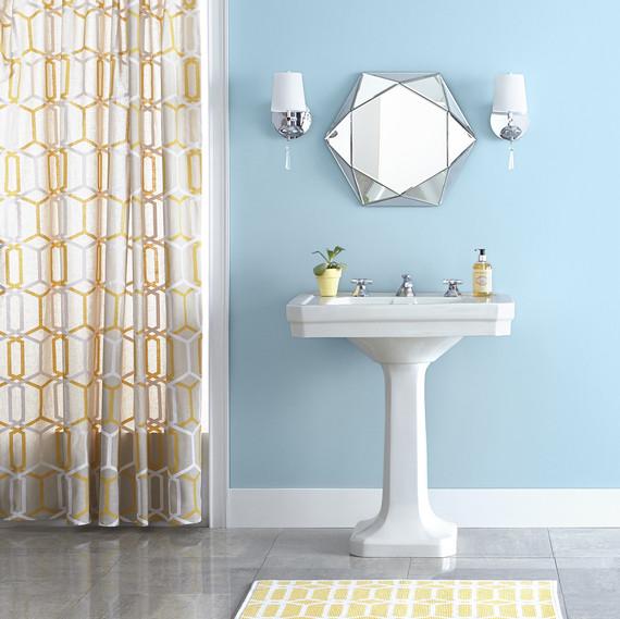 best bathroom paint 2019 blue