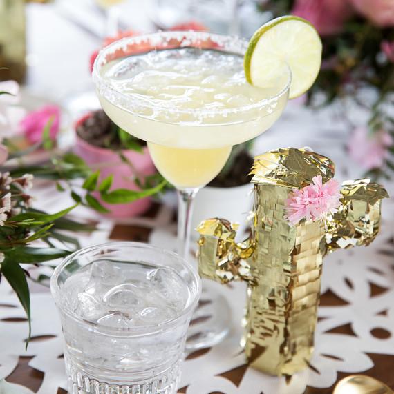 cinco de mayo floral fiesta table drinks decorations margarita