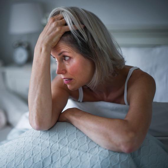 eczema woman can't sleep