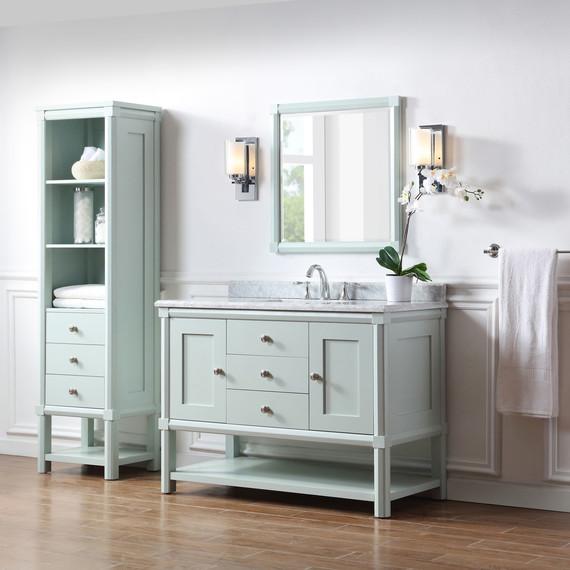 these bath vanities deliver on storage and style martha stewart rh marthastewart com Martha Stewart Bathroom Colors Martha Stewart Bathroom Vanity Faucet