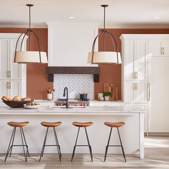 kitchen-paint-2019-terracotta-0119 & These Are the Best Paint Colors of 2019 for Your Kitchen | Martha ...