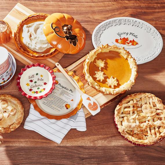 感恩节馅饼表设置