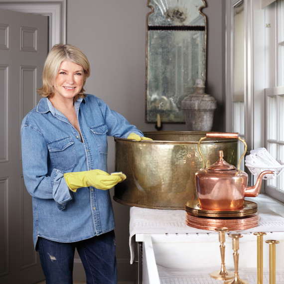 Martha's Tips for Gleaming, Tarnish-Free Metal