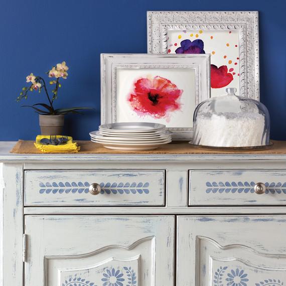 Attractive Mscrafts Vintagepaint Dresser 1014