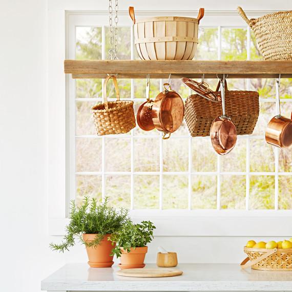 overhead kitchen storage