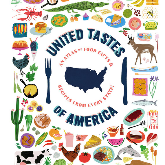 United Tastes of America book