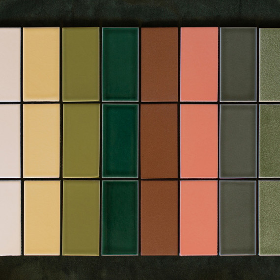 fireclay tile dutch masters palette