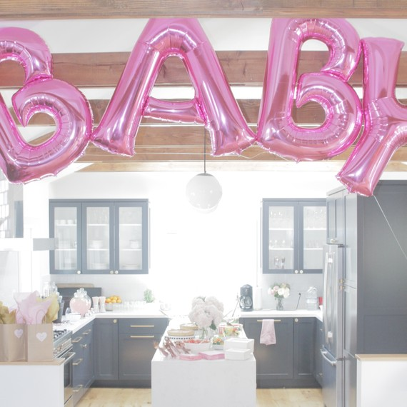 Angelique Cabral's baby shower