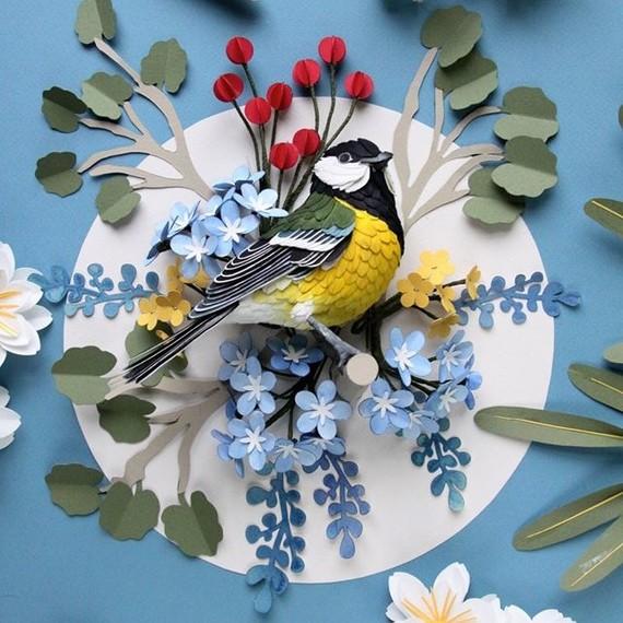 Diana Beltran Herrera paper birds