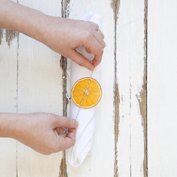 securing orange