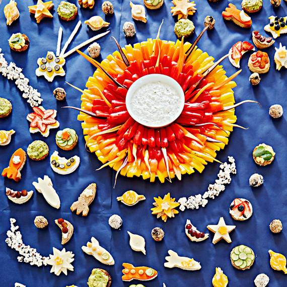 interstellar party snacks
