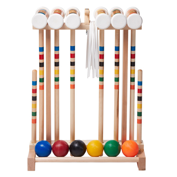 lehmans amish croquet set