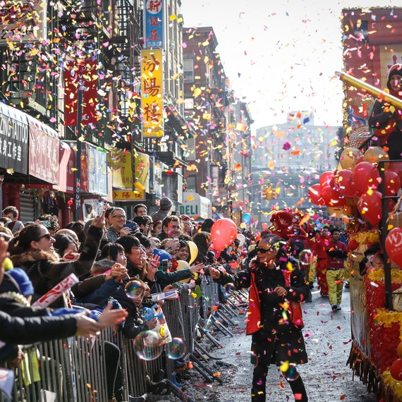 Lunar New Year parade in New York City