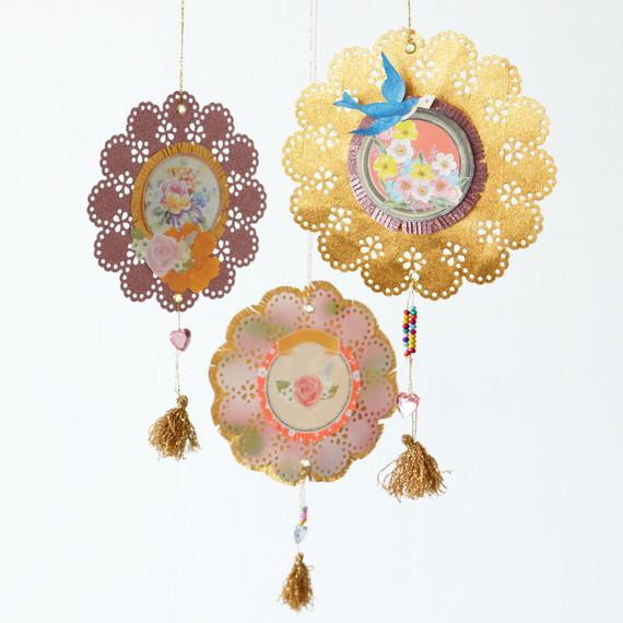 Paper Medallion Decorations