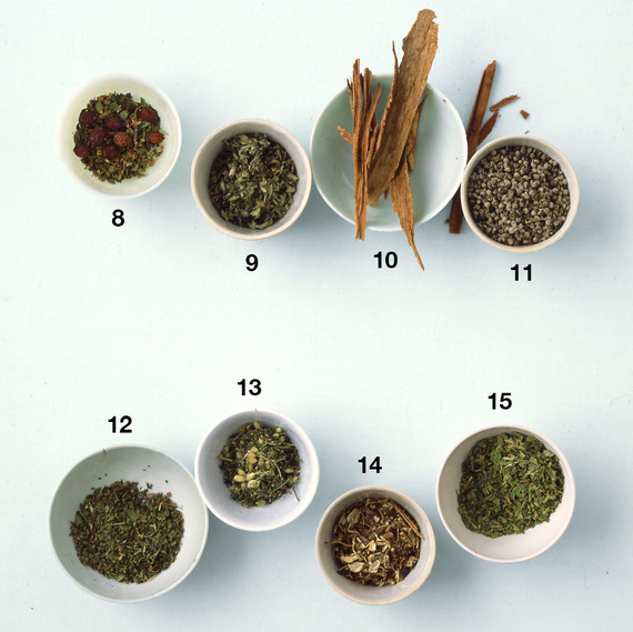 medicinal teas design