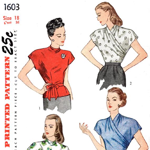 Sewing Patterns Vintage Picswe
