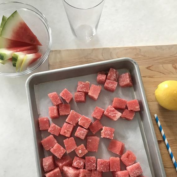 watermelon for white tea melonade