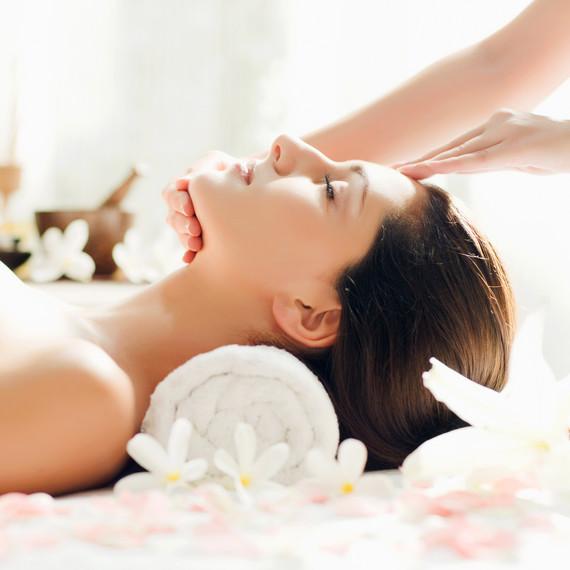 woman relaxation massage