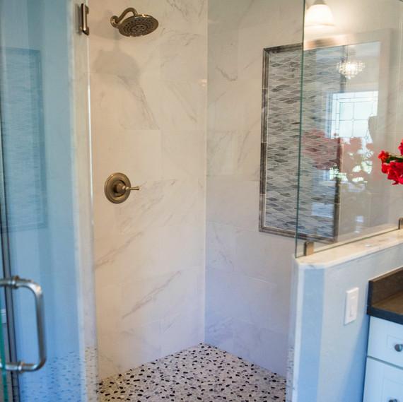 bathroom update shower