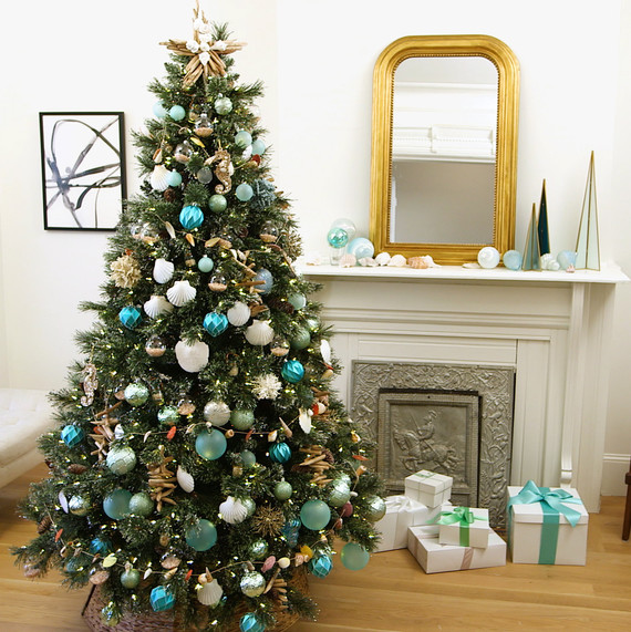 beach christmas tree pictured martha stewart living 75