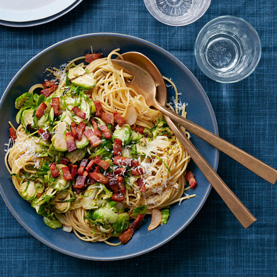 brussels sprouts spaghetti