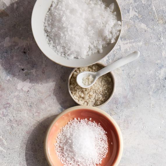 salt varieties flaky gray kosher