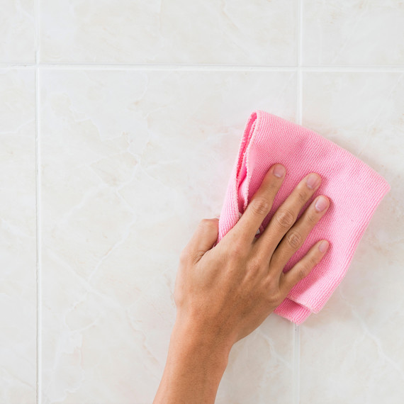 The Best Way To Clean And Brighten Grout And Tiles
