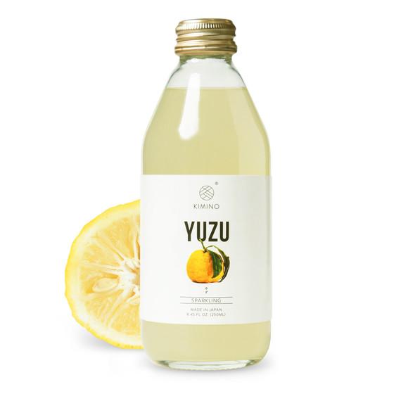 Kimino sparkling yuzu juice