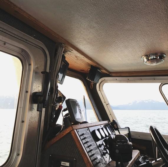 inside boat cabin Drifters Fish 0717