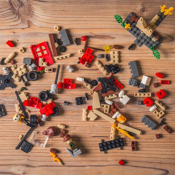 The Best Ways to Organize Lego Pieces