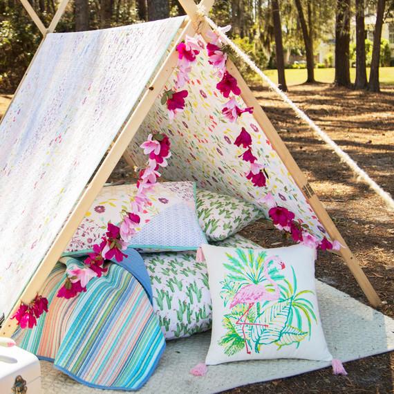 macys backyard quilt tent merch