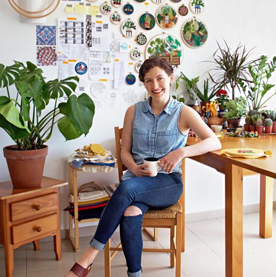 sarah benning portrait