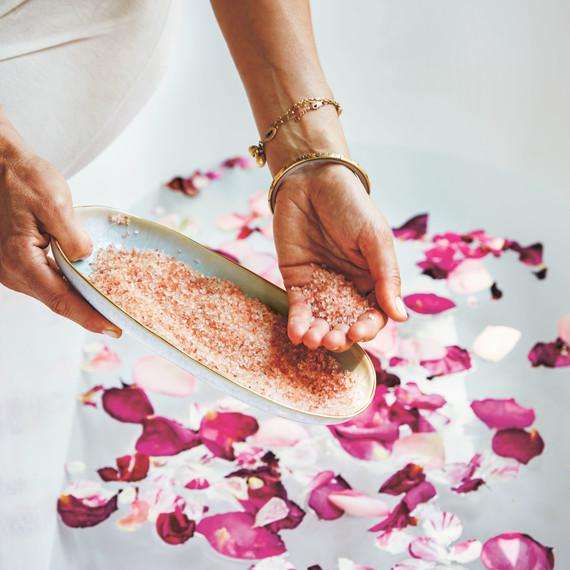 shiva rose whole beauty flower petals bathing