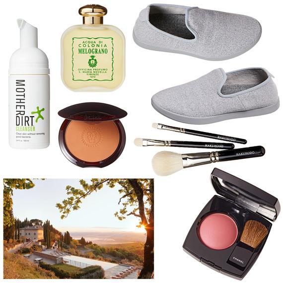 shoes makeup brushes cleanser fragrance tastemaker