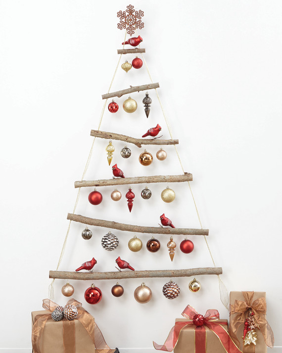 DIY Christmas Tree: How to Make the Ornaments, the Garlands, and Even the Tree Martha Stewart