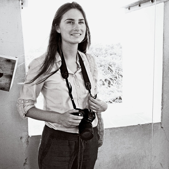 Lauren Bush Lauren with camera