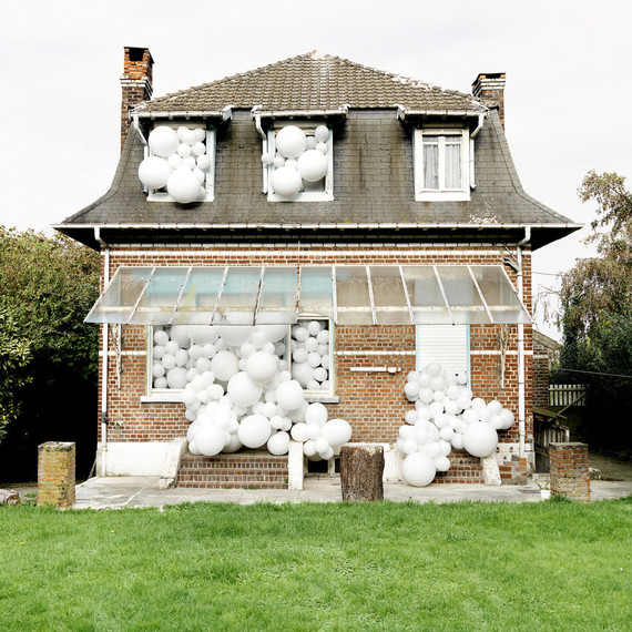cloud balloons by Charles Petillon