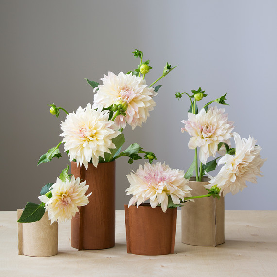 Here\'s a Rustic Leather Vase You Can Make in 15 Minutes | Martha Stewart