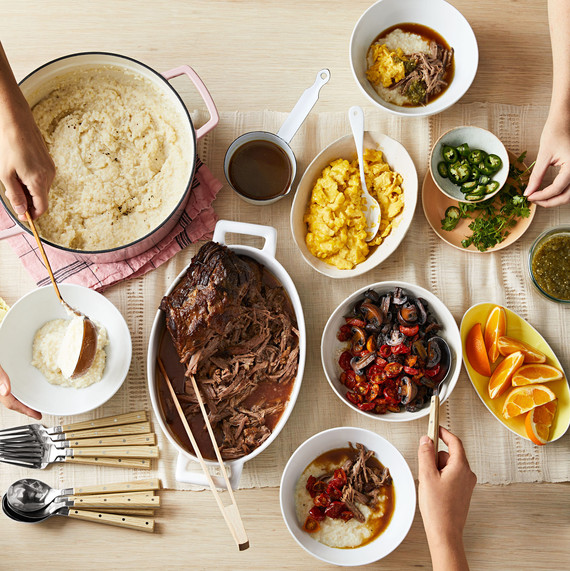Soul Food Buffet Menu Wedding: Our Make-Ahead Southern Brunch Menu Is All About The Grits