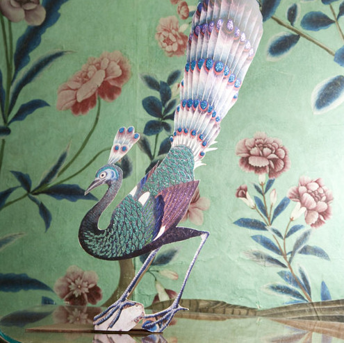 Lovely Peacock Home Decor: Put A Strut In Your Space