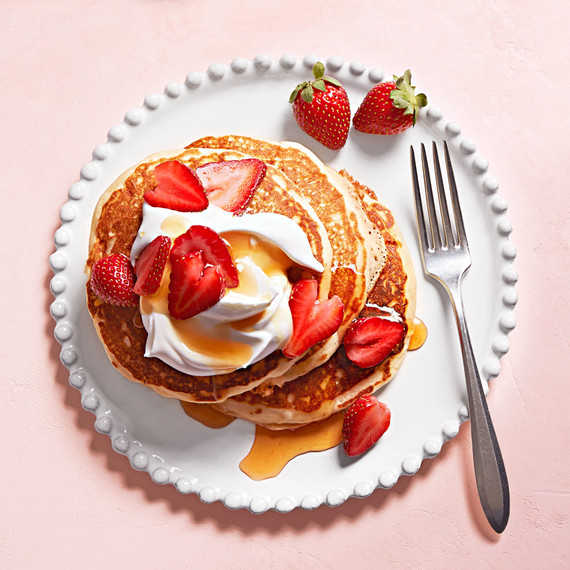 How to make perfect pancakes every time martha stewart strawberry pancakes martha cover image may 2017 ccuart Gallery