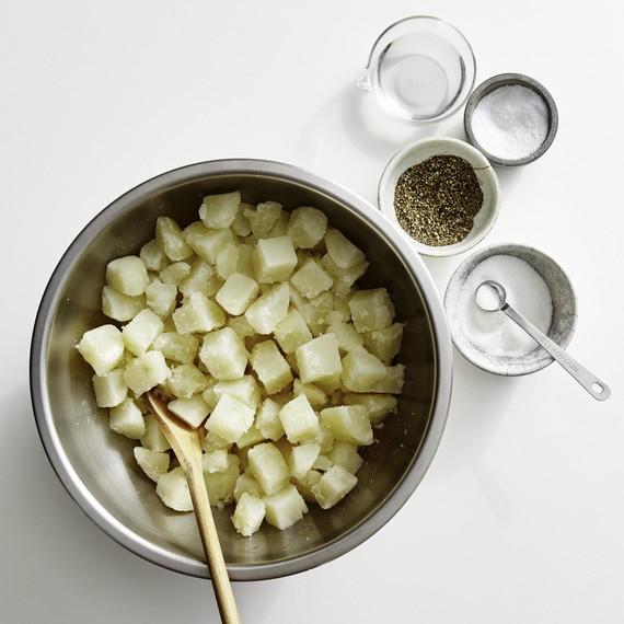classic potato salad how-to